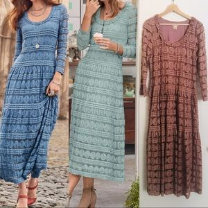 Willow Lace Maxi Dress